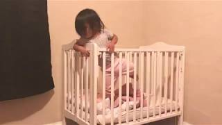 1 year old climbs out of crib