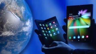 Samsung可摺疊手機要幾錢?5G手機即將流行?   TechLine 科技快訊 (Beta)