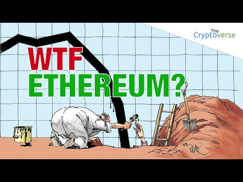 WTF Ethereum? Snap Chart Reading Of Ethereum's Fall (The Cryptoverse)