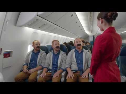 Delta's New In Flight Safety Video - Featuring Sean Ringgold