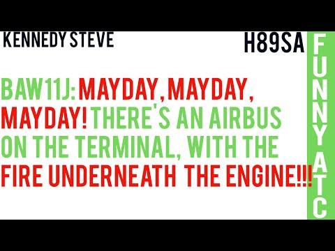 KENNEDY STEVE: MAYDAY, MAYDAY, MAYDAY! FIRE UNDERNEATH THE ENGINE!!!