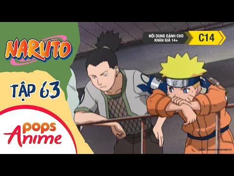 Naruto Tập 63 - Bị Loại!? Nguy Hiểm Bị Xô Té! Trận Đấu Chính Thức Đầy Cam Go - Naruto Lồng Tiếng