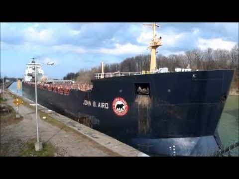 Ship JOHN B. AIRD on Welland Canal