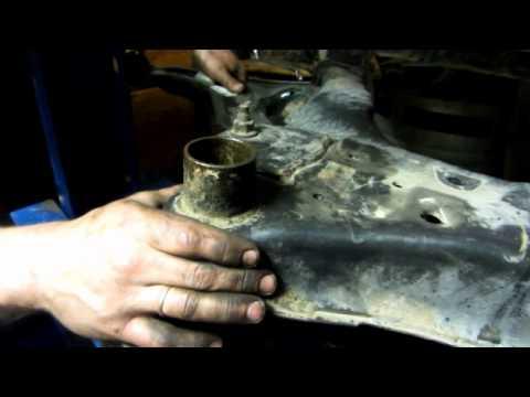 Замена сайлентблоков подрамника Ниссан Кашкай\\Replacing silent blocks stretcher Nissan Qashqai