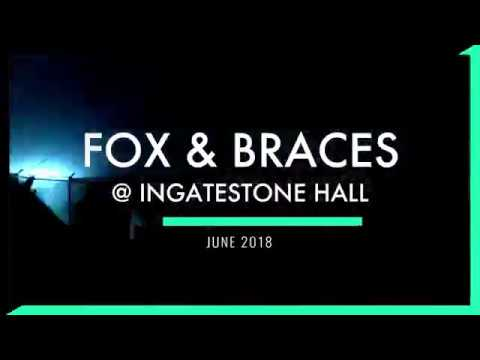 Fox and Braces @ Ingatestone Hall Wedding venue, Brentwood - June 2018