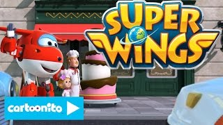 Super Wings | Cake Bake Rescue | Cartoonito