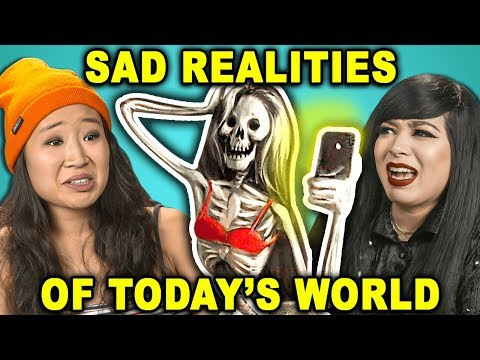 10 Controversial Photos Of Sad Realities In Today's World | The 10s (React)