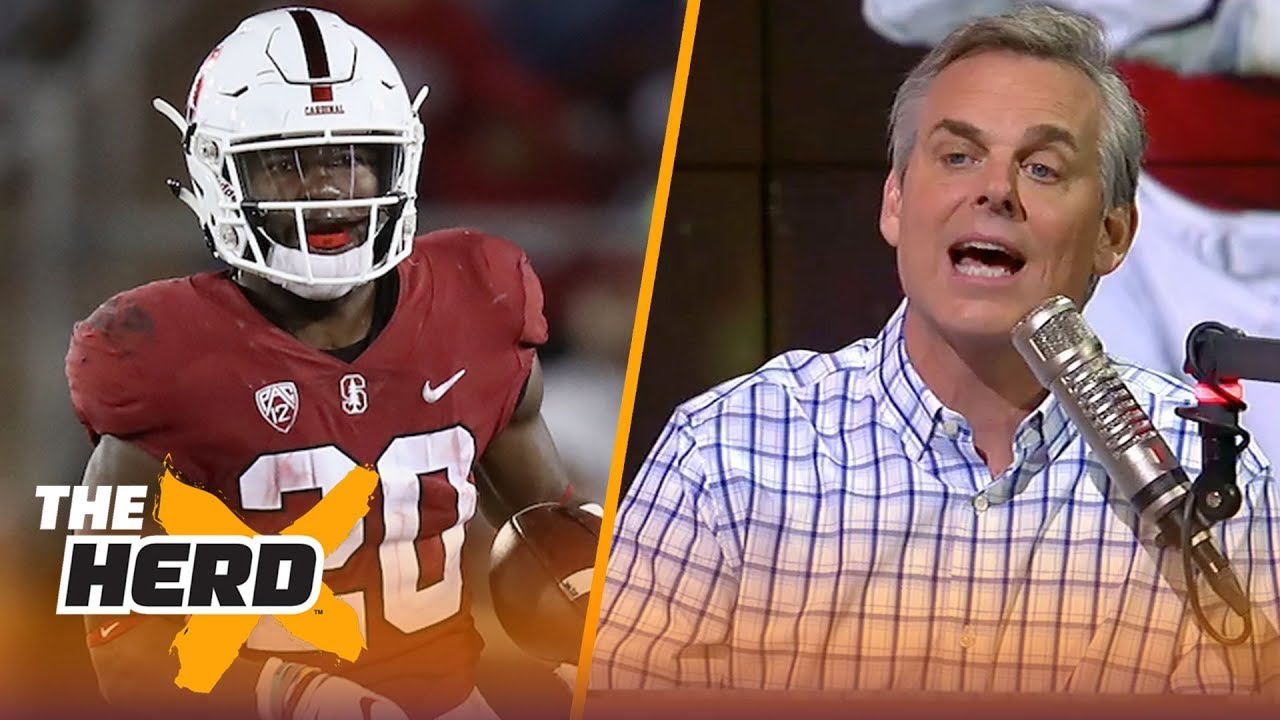 Colin's college football spoiler: USC vs Stanford | CFB | THE HERD
