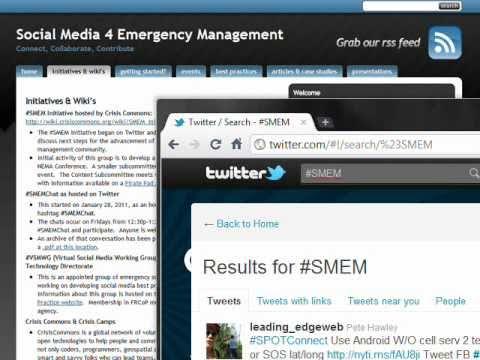 Social Media for Emergency Management
