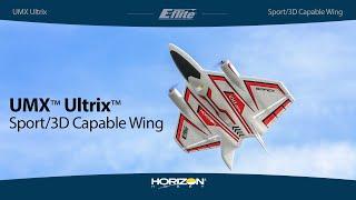 Load Video 1:  E-flite UMX Ultrix BNF Basic