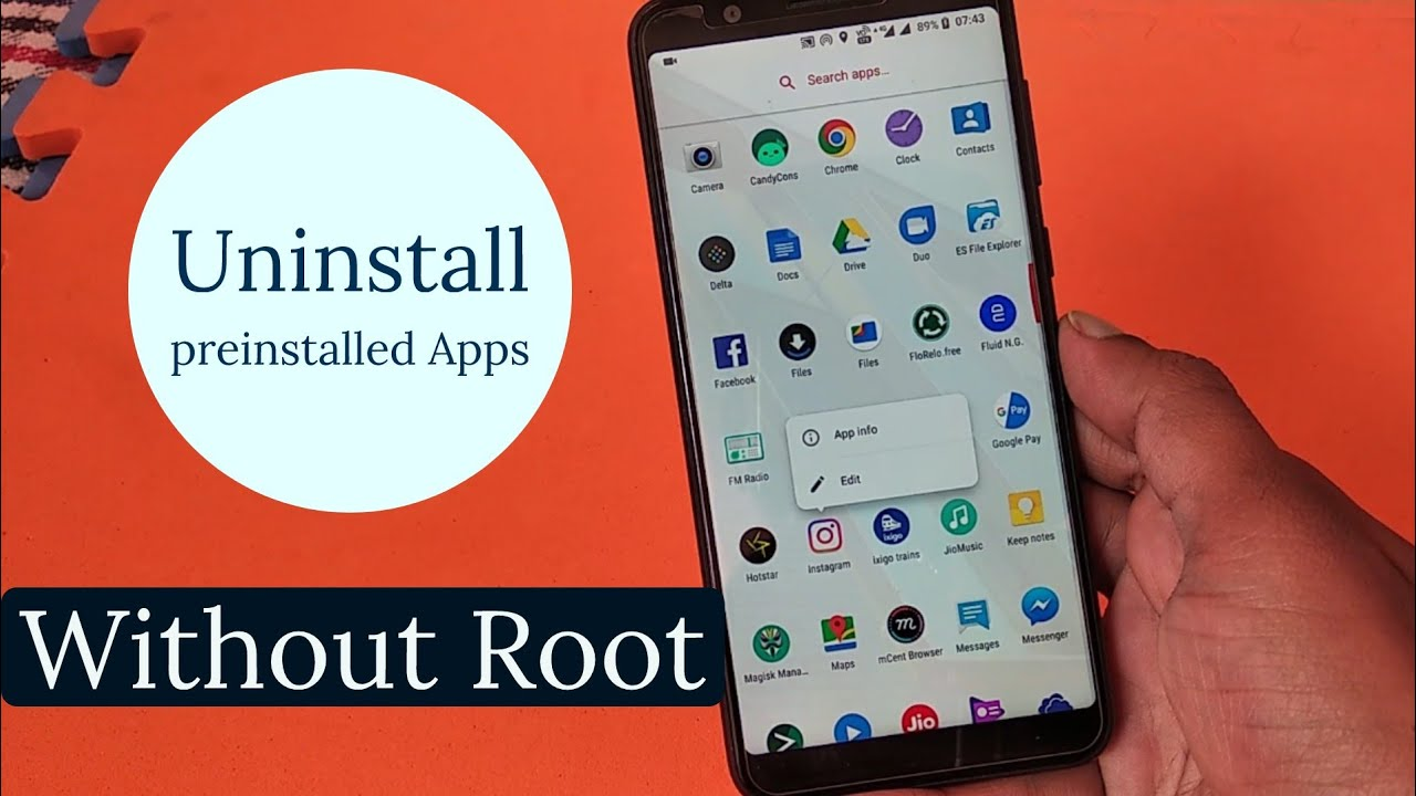 How to Uninstall Preinstalled Apps on Zenfone Max Pro M1