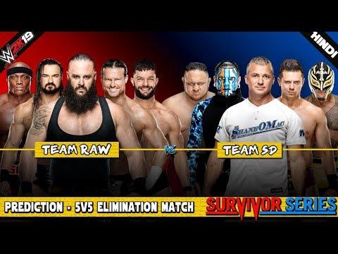WWE 2K19 (Hindi) SURVIVOR SERIES 2018 - Team RAW vs Team SmackDown (PS4 Pro) letöltés