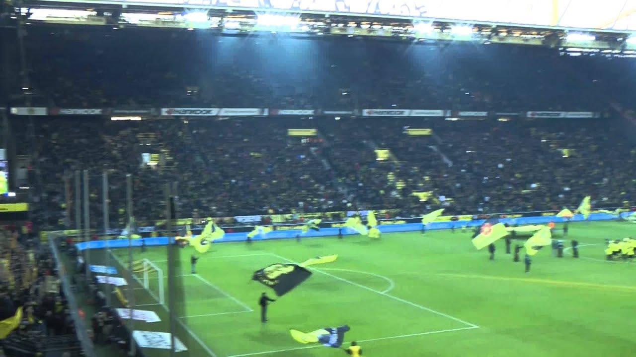 BVB - Wolfsburg Stimmung vor dem Spiel Borussia Dortmund Westfalenstadion