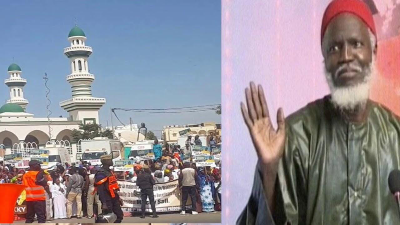 """Oustaz Alioune Sall précise: """"Sabar ne rime pas avec mosquée..."""""""