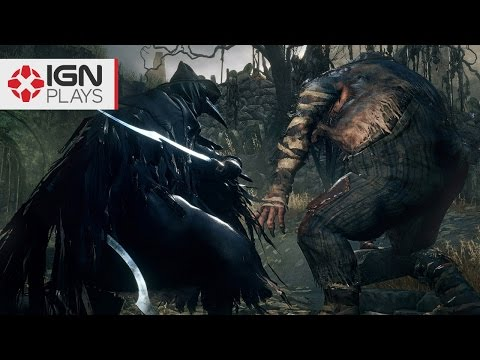 Dark Souls Noob Gets Kidnapped in Bloodborne - IGN Plays