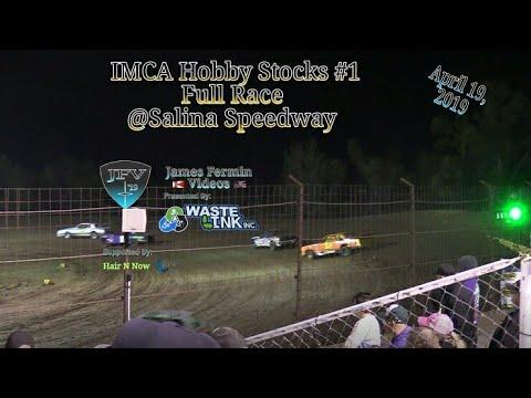 (IMCA) Hobby Stocks #1, Full Race, Salina Speedway, 04/19/19