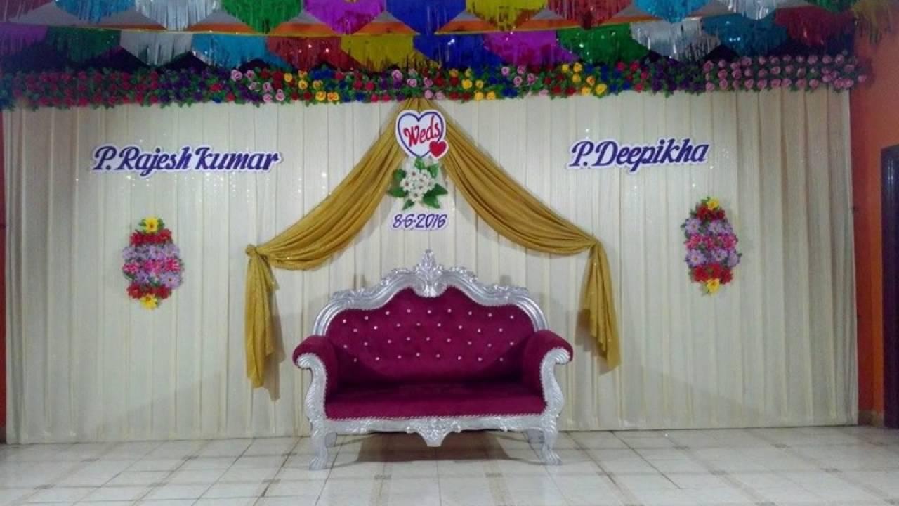 Madurai Decorators Wedding Stage Decoration In Cms Mahal