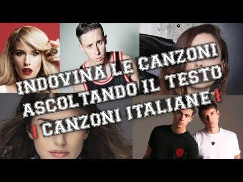 INDOVINA LE CANZONI ASCOLTANDO IL TESTO || CHALLENGE