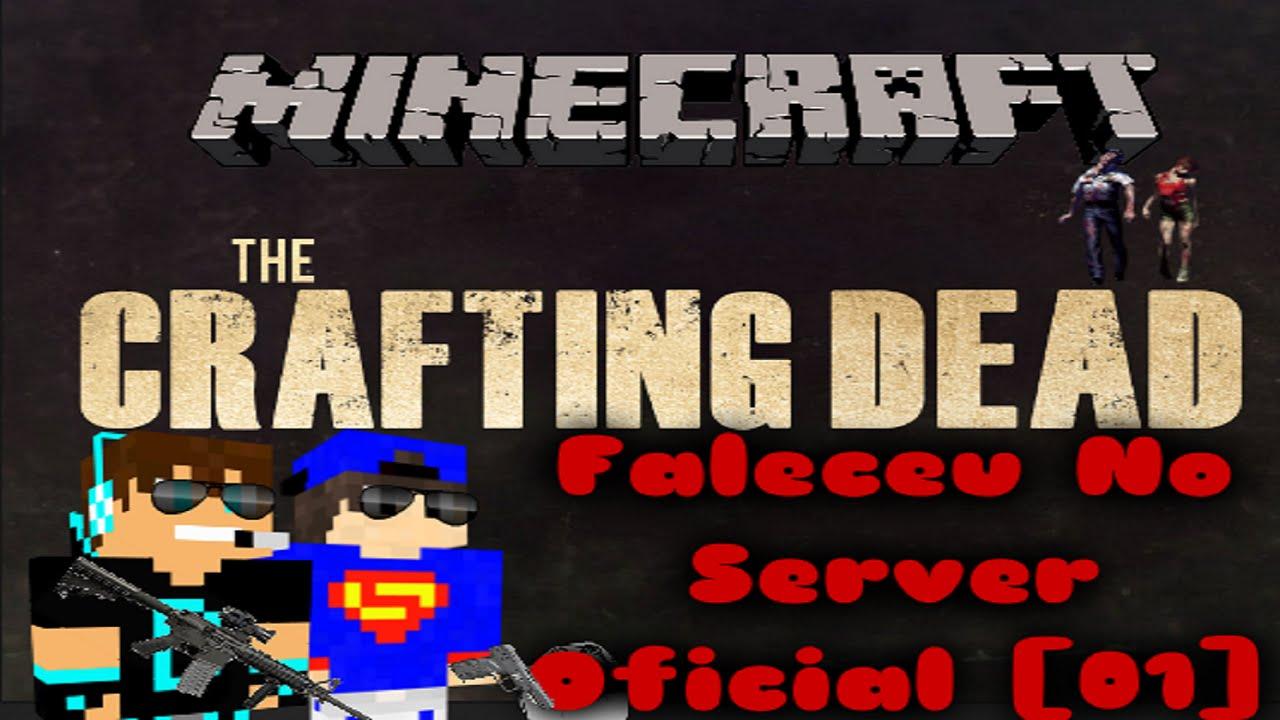 Minecraft the crafting dead faleceu no server oficial for Minecraft crafting dead servers