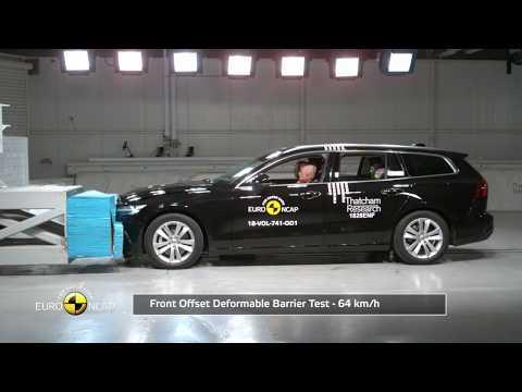 Euro NCAP Crash Test Of Volvo V60 2018