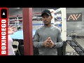 "DANNY JACOBS FULL FIGHT–MEDIA DAY FOR GENNADY ""GGG"" GOLOVKIN (BOXINGEGO)"