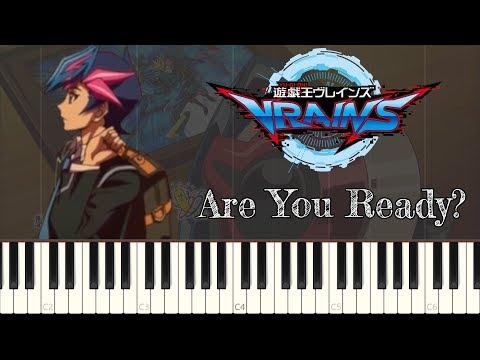 【遊☆戯☆王VRAINS (Yu-Gi-Oh! VRAINS)】 Are You Ready? 「Piano Cover (Synthesia)」