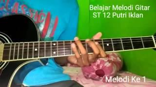 Belajar Melodi Gitar ST 12 Putri Iklan