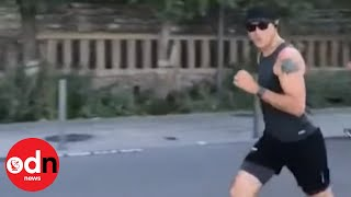 G7: Justin Trudeau Goes for Morning Run in Biarritz