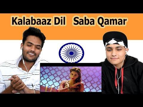 Indian reaction on Kalabaaz Dil | Saba Qamar  | Swaggy d