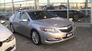 2015 Acura RLX Tech Startup Engine & In Depth Tour