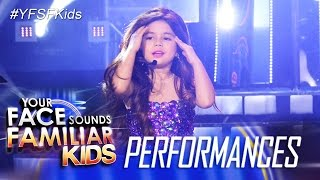 your face sounds familiar kids xia vigor as selena gomez