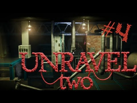 Unravel Two Pt 4 (Ft MasterFlip12) - Advanced Challenges!   Polliegon Gaming  