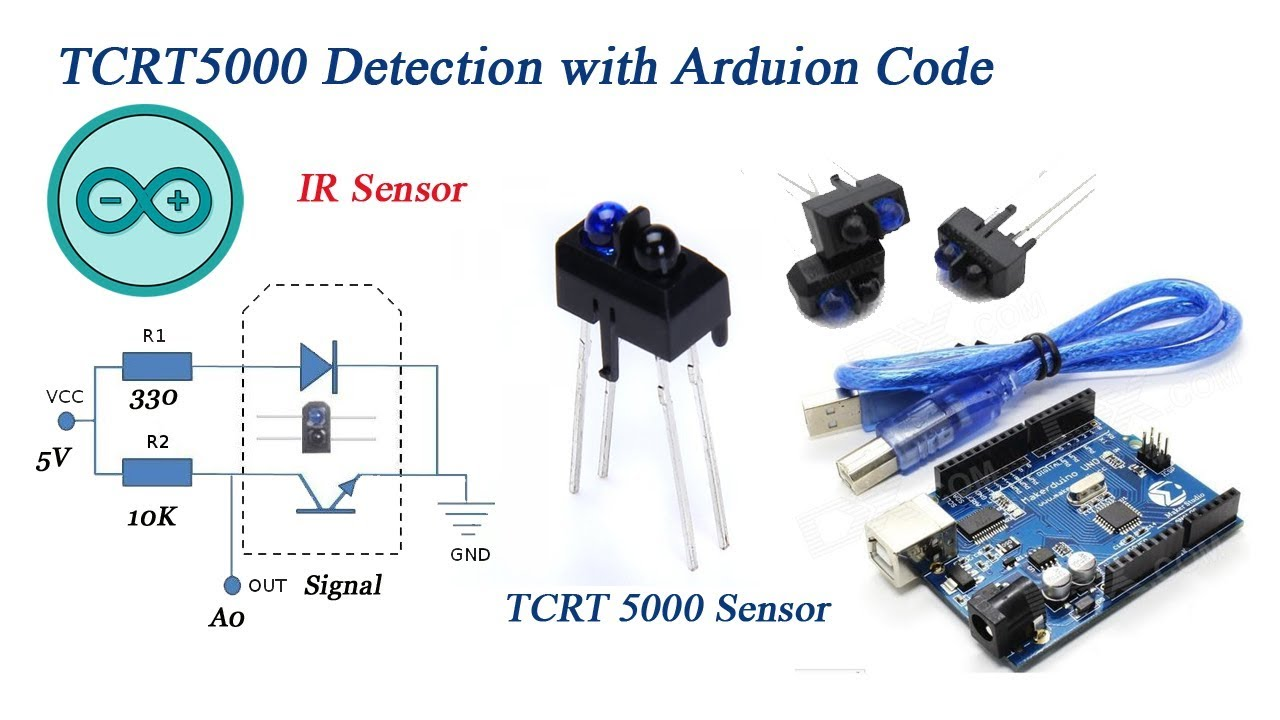 arduino code tcrt500 ir infrared sensor detection youtube. Black Bedroom Furniture Sets. Home Design Ideas