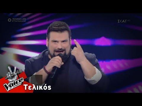 Κωνσταντίνος Τσιμούρης - Let Me Entairtain You | Τελικός | The Voice of Greece