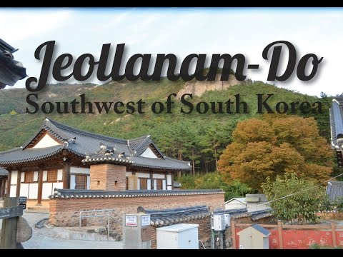 Getting Lost in Korea - Jeollanam-Do, South Korea