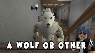 I'VE BEEN A WEREWOLF, !!! / ROBLOX ENGLISH / PRACTICE GAME