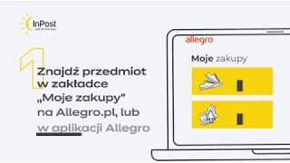 Inpost Jak Zwrocic Paczke Z Allegro Youtube