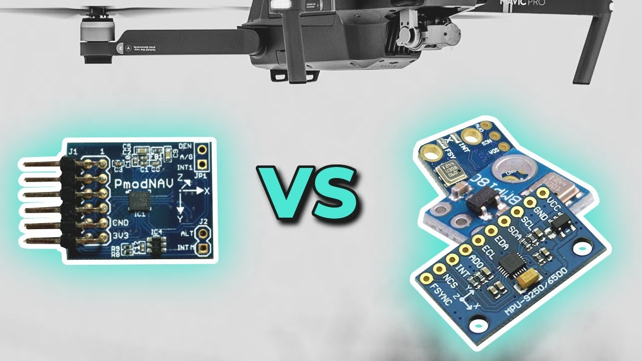 Accelerometer Gyroscope Magnetometer Sensors Quick Comparison | Digilent  Pmod NAV VS MPU9250+BMP180