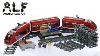 Lego City 7938 Passenger Train - Lego Speed Build Review