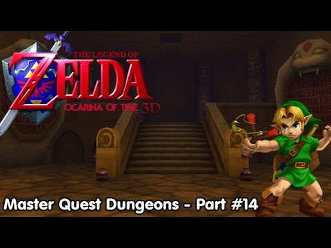Slim Plays Ocarina of Time 3D (Master Quest Dungeons) - Part 14