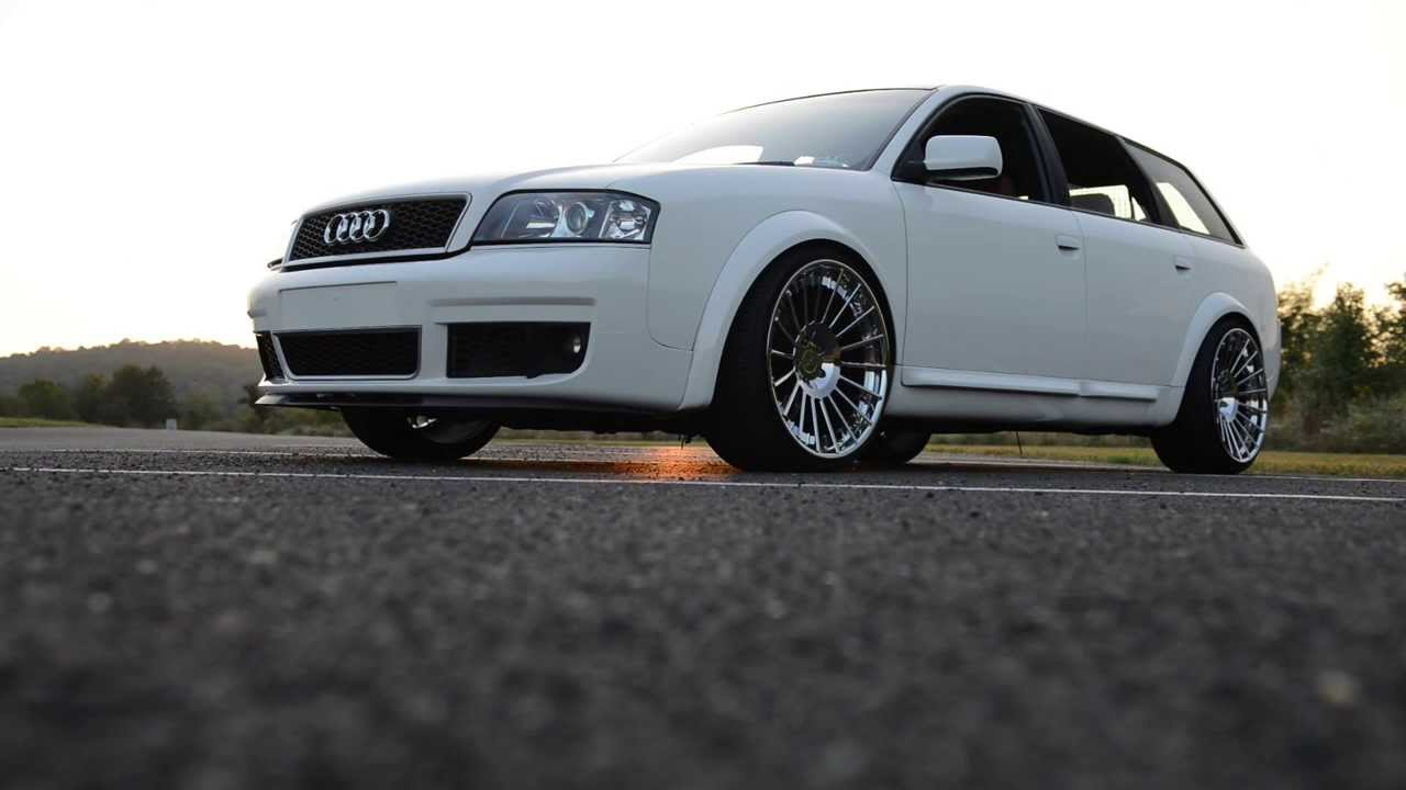 Bagged Audi Allroad Airs Out YouTube
