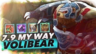 7.9 Volibear Jungle My Way - Trick2G