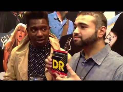 Animals as Leaders at DR Strings NAMM 2013
