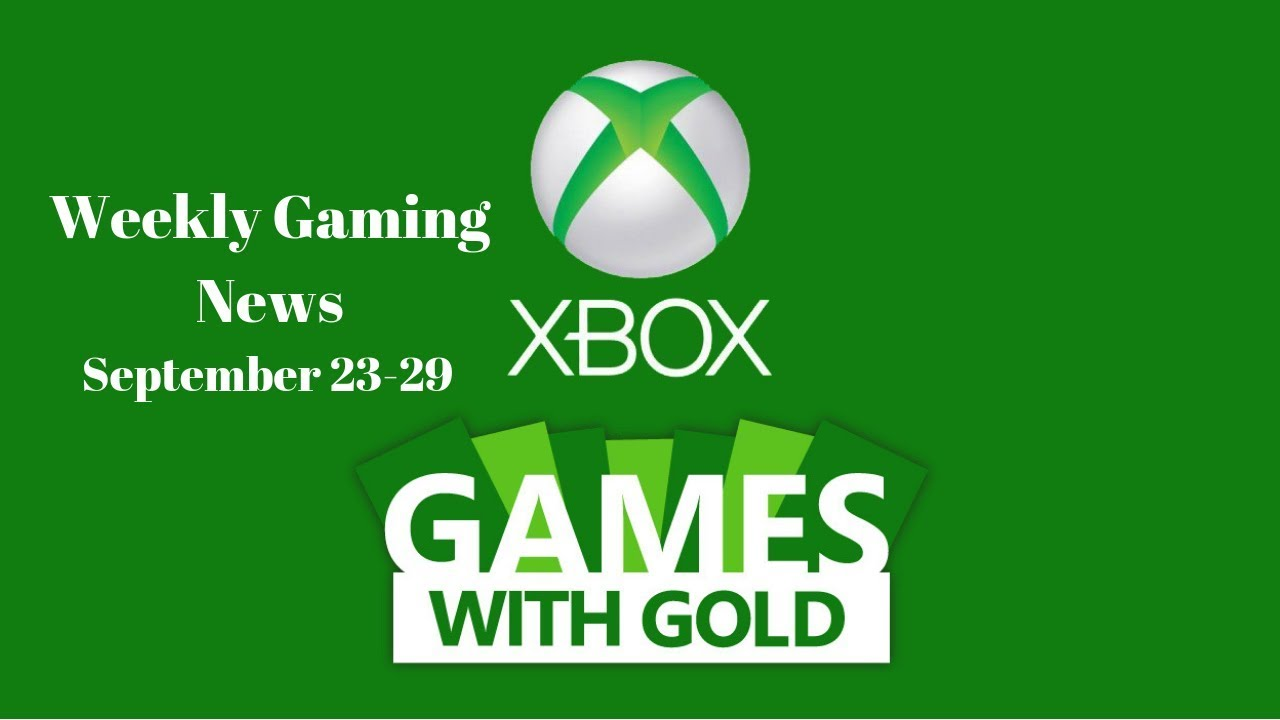 Weekly Gaming News: September 23-29