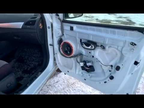 Замена штатных динамиков в Renault Fluence на DL Audio Gryphon Lite 165 за 1490 ₽