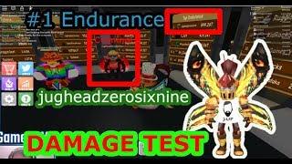 Conocimos a Jughead (#1 Endurance) en Power Sim y probamos daño -Roblox