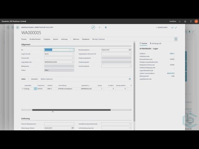 Microsoft Dynamics 365 Business Central -