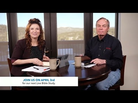 Andrew's Live Bible Study - The Crucifixion - Mar 27 2018