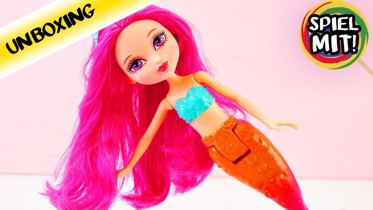 Berühmt Barbie Meerjungfrau Farbseiten Bilder - Beispiel Business ...