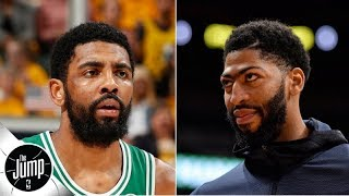 Could a trade for Anthony Davis convince Kyrie Irving to stay with Celtics? | The Jump